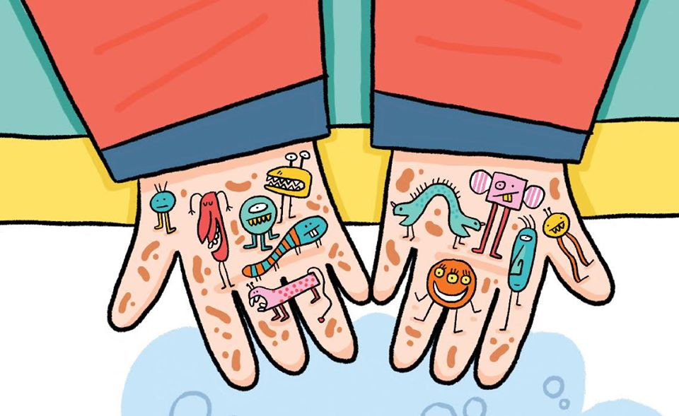 atelier gel anti-bactérien c'est l'histoire de